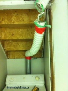 dryer vent rerouting